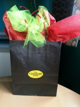 $25 Small Cheese Lady Gift Bag/Box